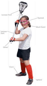 girls lacrosse equipment