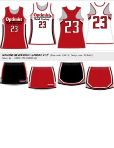 Field Hockey Uniform (2)